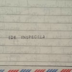 IDF inspected outgoing mail.
